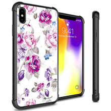 Load image into Gallery viewer, iPhone XS Max Tempered Glass Phone Cover Case - Gallery Series