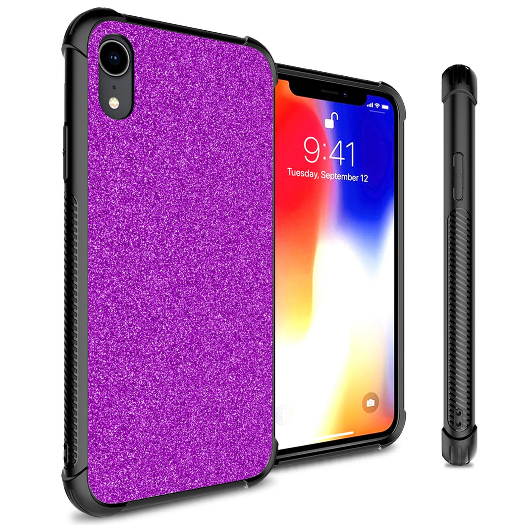 iPhone XR Glitter Case Protective Phone Cover - Glimmer Series