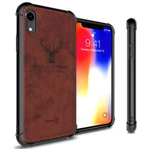 iPhone XR Phone Case Slim Fabric Phone Cover - Woven Series