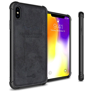 iPhone XS / iPhone X Phone Case Slim Fabric Phone Cover - Woven Series
