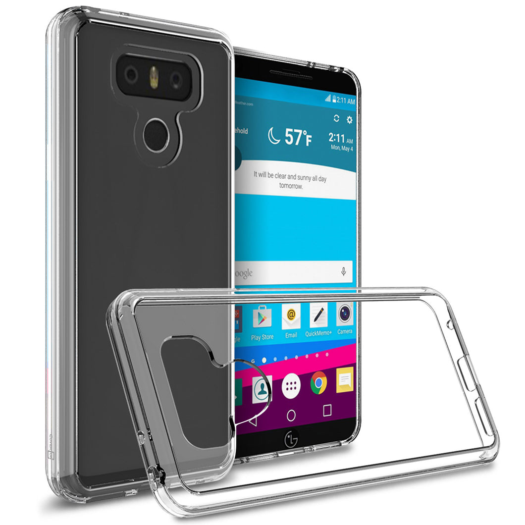 LG G6 / G6 Plus Clear Case - Slim Hard Phone Cover - ClearGuard Series