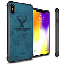 Load image into Gallery viewer, iPhone XS / iPhone X Phone Case Slim Fabric Phone Cover - Woven Series