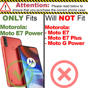 Motorola Moto E7 Power Case - Slim TPU Silicone Phone Cover - FlexGuard Series