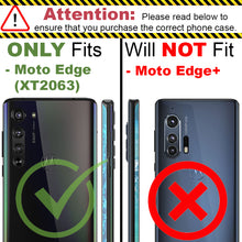 Load image into Gallery viewer, Motorola Moto Edge Case - Slim TPU Silicone Phone Cover - FlexGuard Series