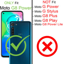 Load image into Gallery viewer, Motorola Moto G8 Power Case - Slim TPU Rubber Phone Cover - FlexGuard Series