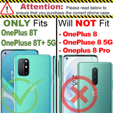 Load image into Gallery viewer, OnePlus 8T / 8T+ Plus 5G Case - Heavy Duty Protective Hybrid Phone Cover - HexaGuard Series