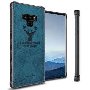 Samsung Galaxy Note 9 Phone Case Slim Fabric Phone Cover - Woven Series
