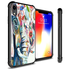Load image into Gallery viewer, iPhone XR Tempered Glass Phone Cover Case - Gallery Series