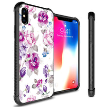 Load image into Gallery viewer, iPhone XS / iPhone X Tempered Glass Phone Cover Case - Gallery Series