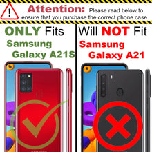 Load image into Gallery viewer, Samsung Galaxy A21s Case - Slim TPU Silicone Phone Cover - FlexGuard Series