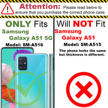 Load image into Gallery viewer, Samsung Galaxy A51 5G Case - Heavy Duty Protective Hybrid Phone Cover - HexaGuard Series