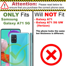 Load image into Gallery viewer, Samsung Galaxy A71 5G Clear Case Full Body Colorful Phone Cover - Gradient Series