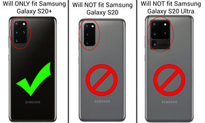 Samsung Galaxy S20 Plus Case with Metal Ring - Resistor Series