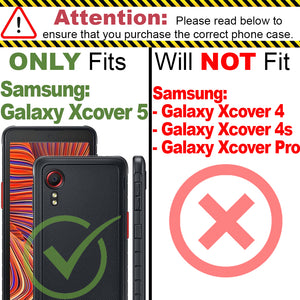 Samsung Galaxy Xcover 5 Case - Slim TPU Silicone Phone Cover - FlexGuard Series