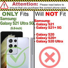 Load image into Gallery viewer, Samsung Galaxy S21 Ultra Tempered Glass Screen Protector - InvisiGuard Series (1-3 Pack)