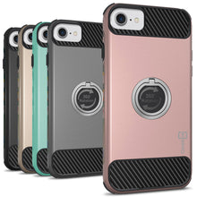 Load image into Gallery viewer, iPhone SE 2020, iPhone 8, iPhone 7 Case with Ring - Magnetic Mount Compatible - RingCase Series