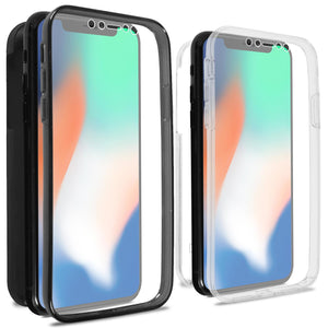 iPhone XR Full Body Case with Screen Protector - SlimGuard Series