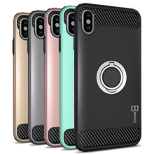 Load image into Gallery viewer, iPhone XS Max Case with Ring - Magnetic Mount Compatible - RingCase Series