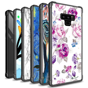 Samsung Galaxy Note 9 Tempered Glass Phone Cover Case - Gallery Series