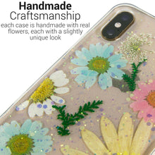 Load image into Gallery viewer, iPhone XS Max Flower Case Handmade Slim Fit TPU Phone Cover - Real Flower TPU Series