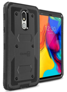 LG Stylo 5 / Stylo 5+ / Stylo 5V / Stylo 5X Case - Heavy Duty Shockproof Phone Cover - Tank Series