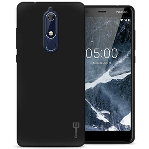 Nokia 5.1 (2018) Case - Slim TPU Silicone Phone Cover - FlexGuard Series