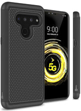 Load image into Gallery viewer, LG V50 ThinQ Case - Heavy Duty Protective Hybrid Phone Cover - HexaGuard Series