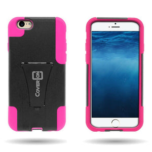 iPhone 6s, iPhone 6 Case - Heavy Duty Dual Layer Phone Cover - Dual Defense Series