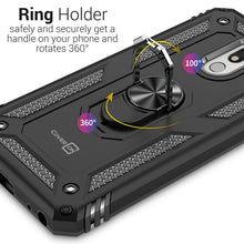 Load image into Gallery viewer, LG Stylo 5 / Stylo 5+ / Stylo 5V / Stylo 5X Case with Metal Ring Kickstand - Resistor Series