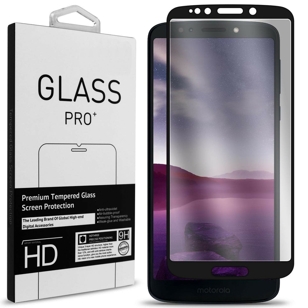 Motorola Moto E5  / Moto G6 Play  / Moto G6 Forge Tempered Glass Screen Protector - InvisiGuard Series
