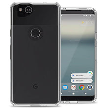 Load image into Gallery viewer, Google Pixel 2 Clear Case Hard Slim Phone Cover - ClearGuard Series
