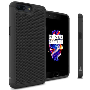 OnePlus 5 Case - Heavy Duty Protective Hybrid Phone Cover - HexaGuard Series