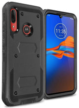 Load image into Gallery viewer, Motorola Moto E6 Plus Case - Heavy Duty Shockproof Phone Cover - Tank Series