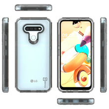 Load image into Gallery viewer, LG K51 / Reflect Clear Case - Full Body Tough Military Grade Shockproof Phone Cover