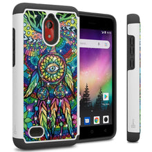 Load image into Gallery viewer, Coolpad Illumina Case - Rhinestone Bling Hybrid Phone Cover - Aurora Series