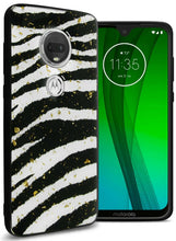 Load image into Gallery viewer, Motorola Moto G7 Plus / Moto G7 / T-Mobile REVVLRY Plus Case Safari Skin Slim Fit TPU Animal Print Phone Cover