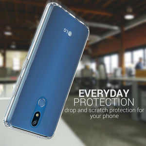LG K40 / Xpression Plus 2 / Harmony 3 / Solo LTE Clear Case - Slim Hard Phone Cover - ClearGuard Series