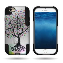 Load image into Gallery viewer, iPhone 6s, iPhone 6 Case - Heavy Duty Dual Layer Phone Cover - Dual Defense Series