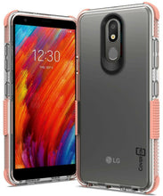 Load image into Gallery viewer, LG Aristo 4 Plus Cases / LG Prime 2 Clear Case - Protective TPU Rubber Phone Cover - Collider Series