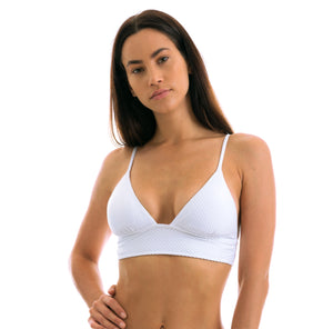 Top Cloque Branco Tri Cos