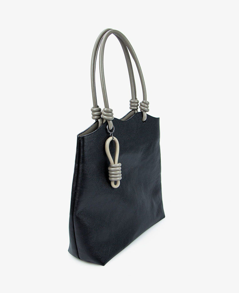 SHOPPING BAG ALHAMBRA PRETO