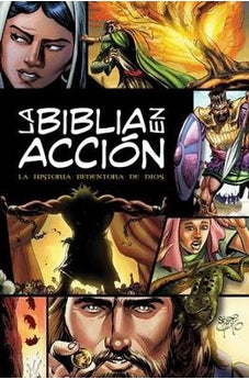 La Biblia en acción: The Action Bible-Spanish Edition (Action Bible Series)