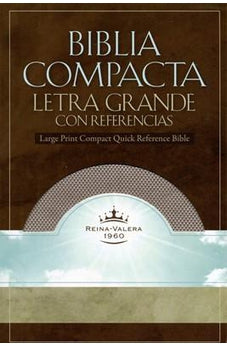 RVR 1960 Lp Compact Quick Ref Bible Blush 9781433600111