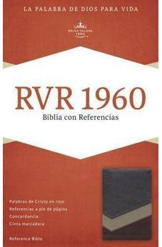 Rvr 1960 Reference Bible, Brown/Tan/Bronze Lt