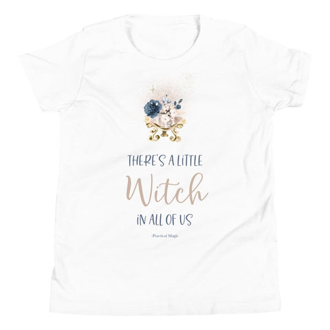 A Little Witch Kids Tee - Persephone's Boutique