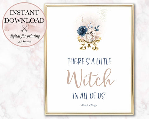 A Little Witch Printable - Persephone's Boutique