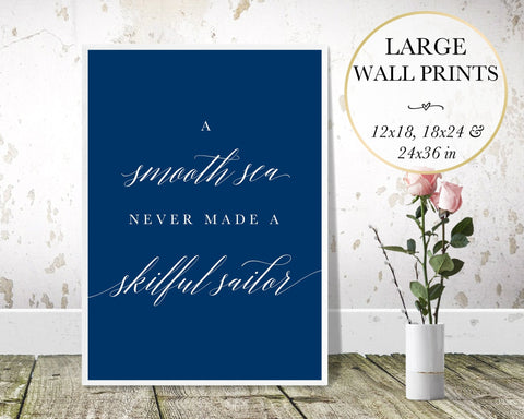 A Smooth Sea Wall Art - Persephone's Boutique