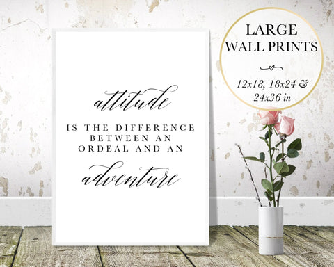 Attitude Wall Art - Persephone's Boutique