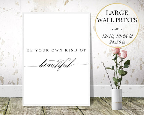 Be Beautiful Wall Art - Persephone's Boutique