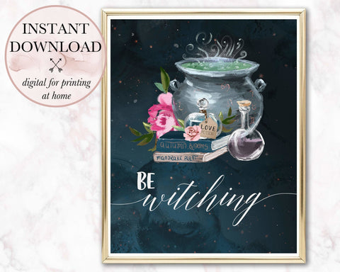 Be Witching Printable - Persephone's Boutique